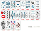 Design Flash Tattoo Removable Waterproof Butterfly Stickers Body Art Tatoo $1.01 USD on eBay