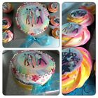 A4 EDIBLE 1D ONE DIRECTION PASTEL HAPPY BIRTHDAY NAME CAKE CUPCAKE ICING TOPPER