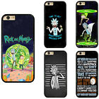 Rick and Morty Anime Cartoon Plastic Hard Phone Case Cover For iPhone Samsung