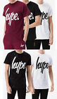 Mens Hype T-Shirt Plain Speckle Speckled Casual Designer Tee Shirt