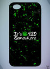 Quote // Funny, It's 420 Somewhere, Weed, Green // Phone Case [IPhone][Galaxy] 2