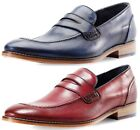 Goodwin Smith Brisbane Mens Slip On Moccasin Shoes ALL SIZES AND COLOURS