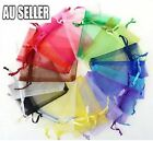 50/100 Organza Wedding Xmas Party Favor Gift Candy Bags Jewellery Packing Pouch