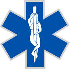 Star Of Life EMS Stripper Style Window Decal - Various sizes Free Ship
