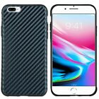 Apple iPhone 8 & 8 PLUS Light Thin Carbon Fiber TPU Skin Cover + Screen Guard