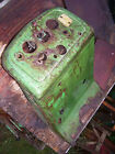 VINTAGE OLIVER  77  TRACTOR -DASH HOUSING & BATTERY TRAY - NICE