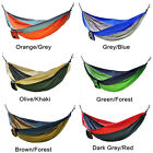 3 Size Double Person Portable Nylon Camping Hammock Hanging Bed Sleeping Swing