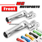 CNC MPRO 25mm Riser Front Foot Pegs For FZ8 Fazer 800 MT-07 FZ-07 YZF R1 1000