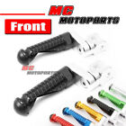 CNC MPRO 25mm Riser Front Foot Pegs For Kawasaki Z750 Z1000 ER-6F Versys 1000