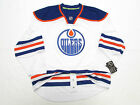 EDMONTON OILERS AUTHENTIC AWAY NHL REEBOK EDGE 7231 HOCKEY JERSEY