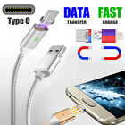 Magnetic USB Type C Fast Charging Charger Cable Cord for Samsung Galaxy S8 Plus $7.69 USD