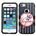 New York Yankees #F Hybrid Armor Case for iPhone SE/6S/7/Plus/Galaxy S7/S8/Plus