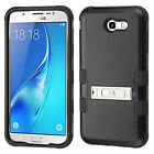 Samsung Galaxy J7 PRIME IMPACT TUFF Hybrid KICKSTAND Case + Screen Guard