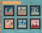 Curly Girl Designs Cross Stitch Kits by Mill Hill - 6 Designs to Choose From