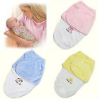 US Stock Newborn Baby Infant Swaddle Wrap Swaddling Blanket Sleeping Bag Bedding