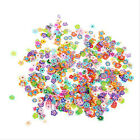 Nail Art Mix Design Fimo Slices Polymer Clay Stickers Decoration Manicure Wheels