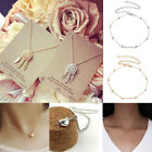 Fashion Charm Jewelry Choker Chunky Statement Bib Pendant Necklace Chain