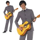 Beatles Costume Adult 60s Fab Four Beatles Mens Fancy Dress Outfit M L