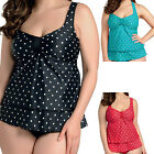 Elomi Swimwear Rara Tiered Multiway Tankini Top Black/Red/Aqua 7020 NEW