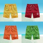 Sexy Men's Slim Fit Casual Shorts Solid Beach Boardshorts Short Pants Plus Size