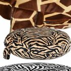 Suggle Zone- Herbivore Circular Pet Bed, Animal Pattern Dog Beds Soft bed