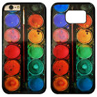 Artist Watercolour Painting Palette Hard Phone Case Cover For iPhone / Samsung