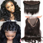 FRONTAL or 360 LACE BAND CLOSURE Unprocessed Peruvian Virgin Human Hair US F140
