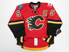 MARK GIORDANO CALGARY FLAMES AUTHENTIC HOME REEBOK EDGE 20 7287 HOCKEY JERSEY