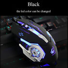 USB Wired Computer Mouse Optical Game Mause 2400DPI 6 Buttons LED Gaming Mice