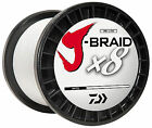 Daiwa J-Braid White 3000m! CHOOSE YOUR SIZE