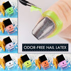 7color Odor-free Peel Off Nail Latex Cuticle Guard Manicure Nail Art Liquid Tape