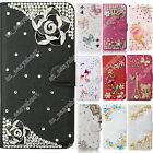 Rhinestone Case For ZTE Diamond Leather Case Wallet Crystal Flip Phone Cover