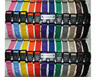 "CollarSafe Set of (24) Soft Nylon Puppy ID ""Snap"" Buckle Collars - Litter Bands"