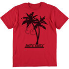 SRM Exotic Erotic Palm Tree Drawing Tee Red