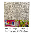 Colour Your Own Canvas in 2 different sizes with either flowers or butterflies