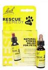 Rescue Remedy Dog Cat Pet Bird Stress Reliever Calm Separation Anxiety Drops