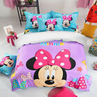 New Mickey Mouse Duvet Quilt Doona Cover Set Pillow Case Single/Double Size Bed