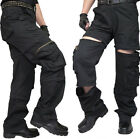 New  Detachable Men's Army Cargo Combat Camo Casual Relaxed Long Pants Trousers