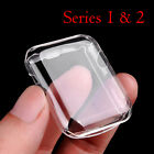 NEW SOFT & CLEAR CASE Protector Sleeve Bumper For iWatch 42MM APPLE WATCH 2