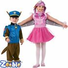 Official Nickelodeon Paw Patrol Costumes Boys | Girls Chase or Skye Age 1-6y