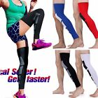 Men Women Calf Compression Socks Knee High Support Stockings Leg Thigh Sleeve HT