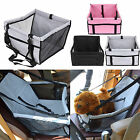 Safety Pet Car Seat Belt Cover Oxford Cloth Booster Bag Mat Dog Cat Travel Seat