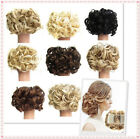 Women Short Black Brown Gold Yellow Front Curly Hairstyle Synthetic Hair Wigs