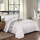 Floral Duvet Cover Pillow Cases Vintage Chic Quilt Cover Bedding Set All Sizes