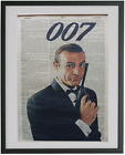 James Bond Print No.444, sean connery, roger moore, 007, james bond poster $15.0 AUD