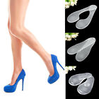 1 Pair Transparent Invisible Gel Activ Insoles Pads High Heel Feet Shoes Comfort