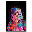 Star Wars Movie Characters Canvas Poster Print Painting Modern Home Wall Decor