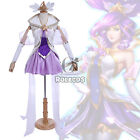 LOL Star Guardian Janna Cosplay The Storm's Fury Costume Outfit With Stockings