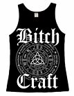 Luna Cult Bitch Craft Vest Occult Symbol Gothic Witchcraft Alternative clothing