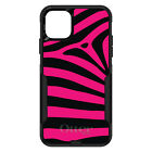 otterbox iphone 5 skins - OtterBox Commuter for iPhone 5 SE 6 S 7 8 PLUS X Black Hot Pink Zebra Skin